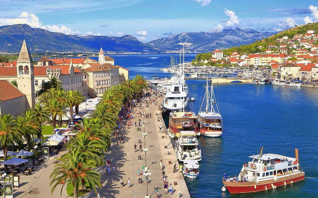Trogir i Kroatien